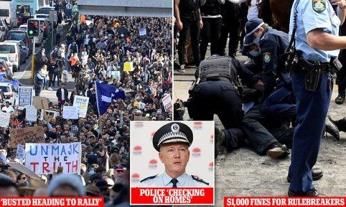 Tradie tried to attend anti-lockdown rally despite testing POSITIVE