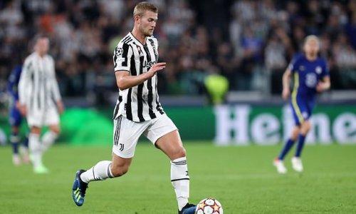 Juventus 'panicking about the future of star man Matthijs de Ligt '