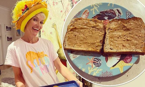 Jessica Rowe reveals she served peanut butter on toast for dinner
