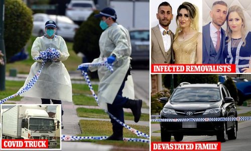 Relative of Covid-infected removalists reportedly dies in home