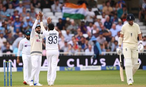 India's seamers took England apart on day one of the first Test