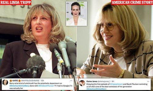 American Crime Story viewers praise Sarah Paulson's performance