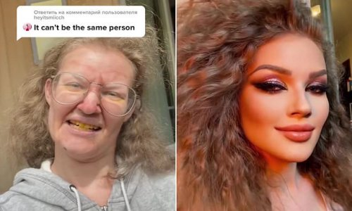 TikTok users are sent into a frenzy by woman's dramatic 'glow up'
