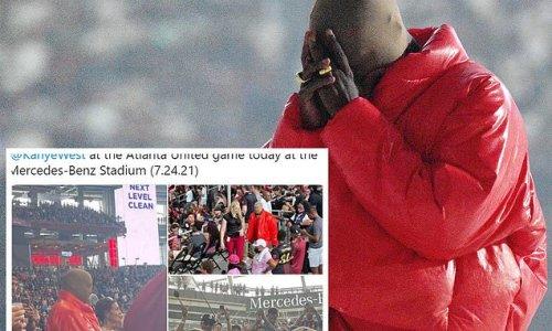 Kanye 'LIVING in Mercedes Benz Stadium till Donda is done'