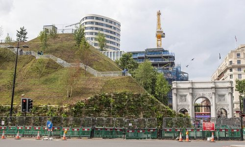 Marble Arch Mound is made FREE as council chiefs drop £8 charge