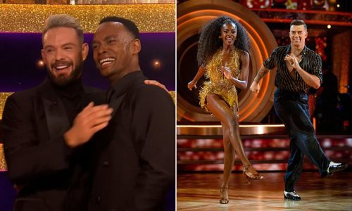 Strictly Come Dancing: John Whaite and Johannes Radebe raise the roof