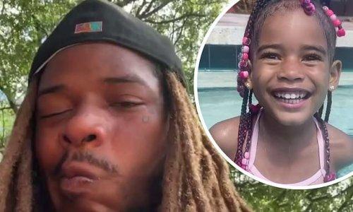 Rapper Fetty Wap breaks down in tears after the death of daughter