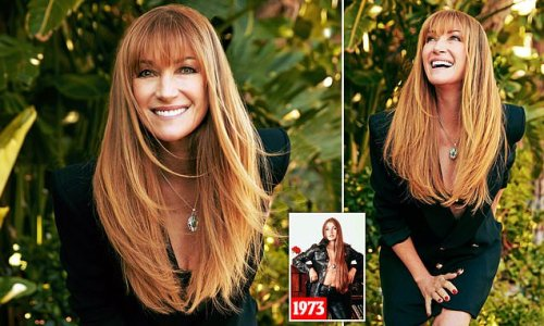 How Jane Seymour keeps her hair looking so amazing - even at 70