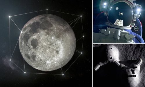 European Space Agency reveals plans to build sat-nav around the moon