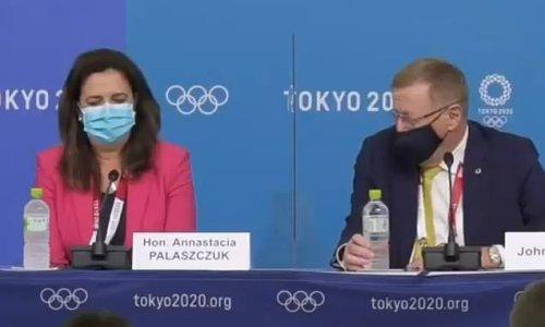 Olympics vice-president is dubbed a 'mansplaining dinosaur'