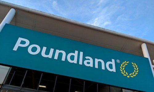 One in ten products in Poundland are no longer priced at £1