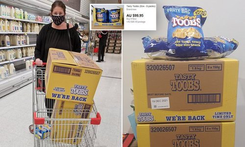 Shoppers racing to buy Tasty Toobs - with some selling boxes on eBay