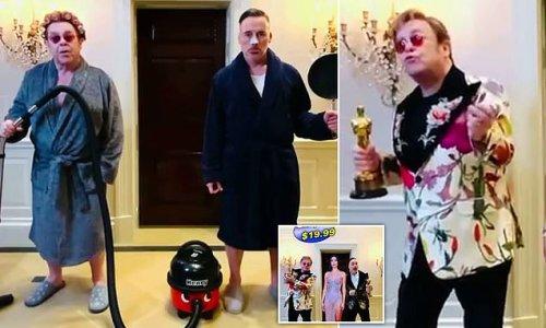 Elton John invites fans to his first ever VIRTUAL Academy Awards bash