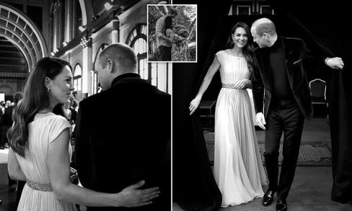 William and Kate's tender moment at Earthshot ceremony