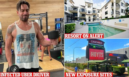 Queensland Covid exposure sites grow after Uber driver tests positive