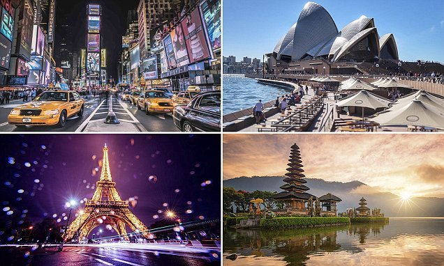 The most Instagrammable places in the world