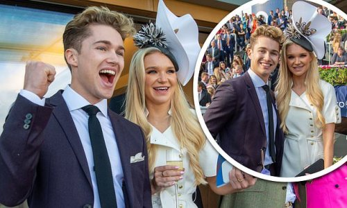 AJ Pritchard scrubs up while Abbie Quinnen is a vision at Ascot