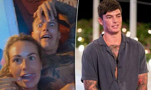 Love Island Australia star Adam Farrugia cosy with a mystery blonde