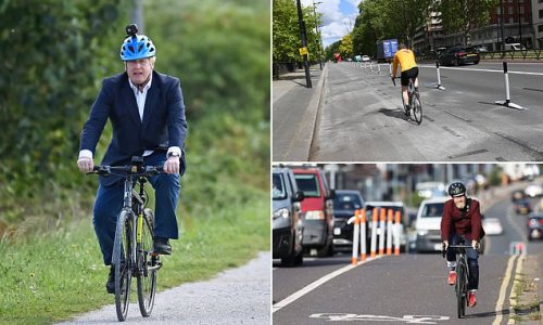 No10 tells councils to STOP ripping up bike lanes - or face fund cuts