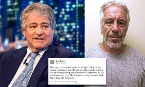Leon Black stepped down from Apollo amid sexual harassment allegations