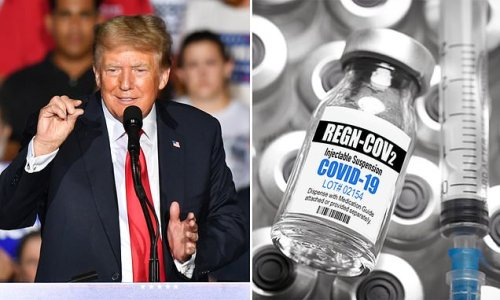 Antibody cocktail given to Trump to be given to at risk NHS patients