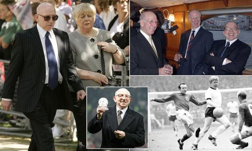 Nobby Stiles' dementia WAS caused by heading says leading doctor
