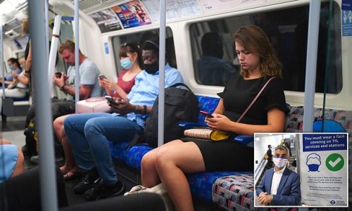 Not wearing face mask on Tube should be CRIMINAL offence says mayor