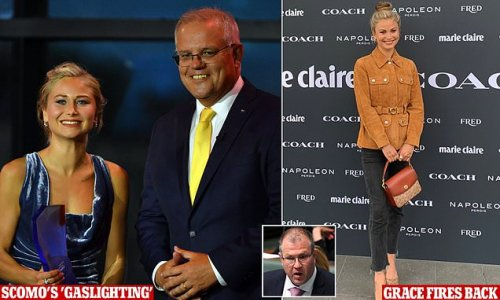 Grace Tame dissects Scott Morrison's snub 'spin'