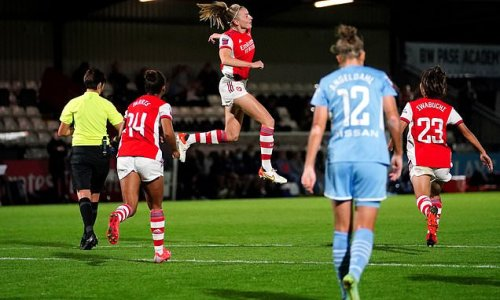 Arsenal continue perfect WSL start as weakened Man City crumble