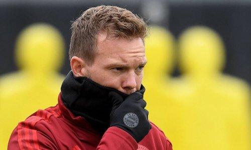 Bayern Munich boss Julian Nagelsmann tests positive for Covid-19