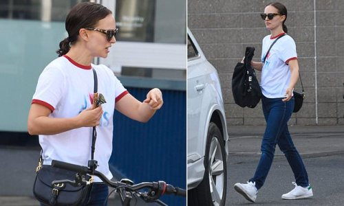 Natalie Portman keeps it casual in a $7,000 designer outfit in Sydney