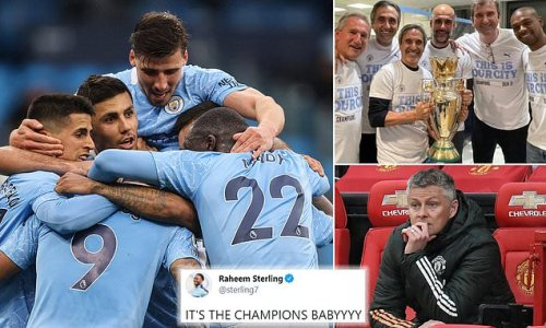 Man City confirmed as Premier League champions after United's defeat