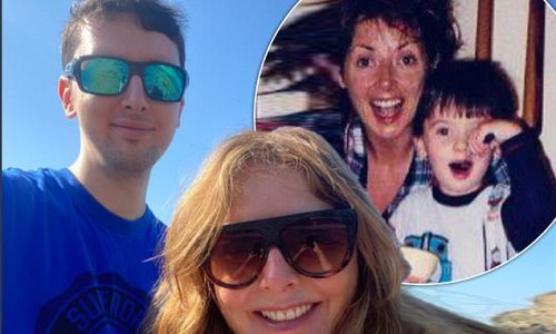 Carol Vorderman is every inch the proud mum as her son graudates