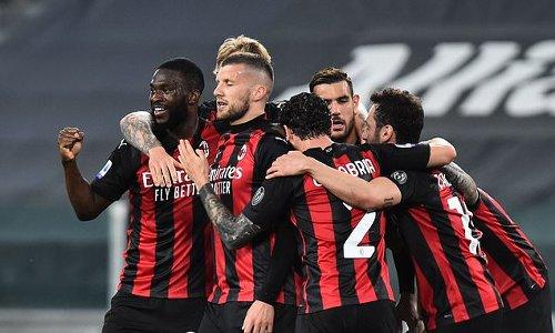 Juventus 0-3 AC Milan: Ante Rebic scores stunner in massive win