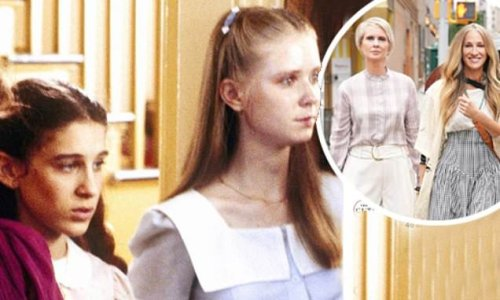 SJP and Cynthia Nixon are snapped together back in 1982