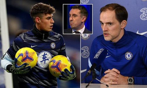 Tuchel hopes to 'help build' Kepa's confidence with shock start