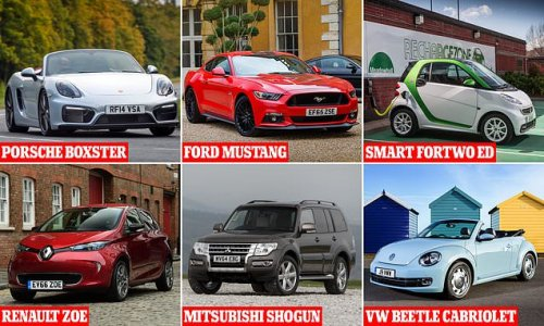 The used cars that depreciate at a snail's pace REVEALED