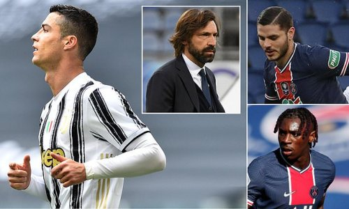 Cristiano Ronaldo 'could go to PSG in Kean and Icardi swap deal'