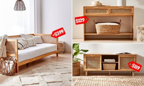 Kmart is set to launch a new of affordable rattan furniture pieces