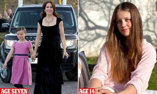 This young princess looks almost unrecognisable from a few years ago