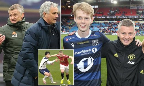Solskjaer's SON throws fire on Man United manager's Mourinho feud