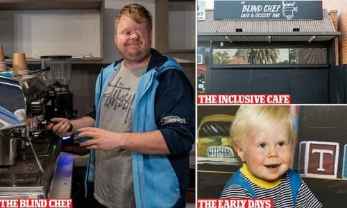 Chef who lost his vision due to cancer opens new inclusive cafe