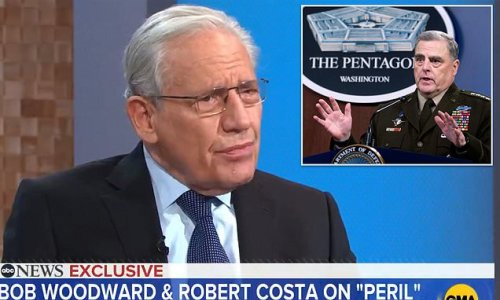 Woodward: Gen. Milley briefed top security officials about China call