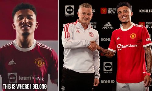 Manchester United finally get Jadon Sancho in £73m deal from Dortmund