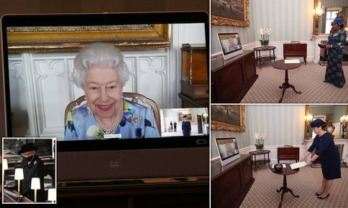 Queen conducts first engagements since Prince Philip's funeral