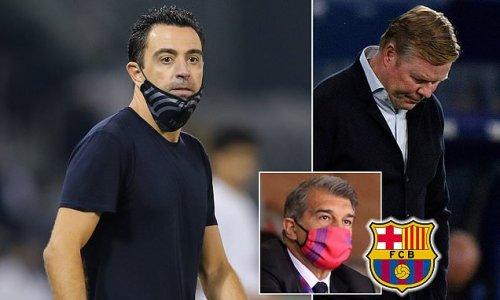 Barcelona legend Xavi signs a new two-year deal as Al-Sadd coach