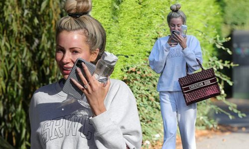 Olivia Attwood goes make-up free following a visit to a skin clinic