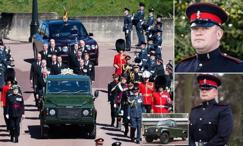 'Coin toss' decided who would drive Prince Philip's modified hearse