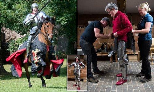 ROBERT HARDMAN joins the fun with Britain's heritage 're-enactors'