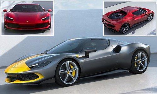 Ferrari's game-changing 'green' V6 hybrid 296 GTB supercar revealed